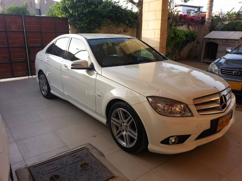 Mercedes benz c class c200 2010 for sale in karachi for Mercedes benz 2010 c class