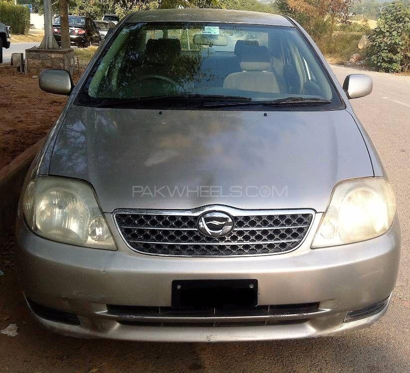 Toyota Corolla X 1.3 2001 Image-1