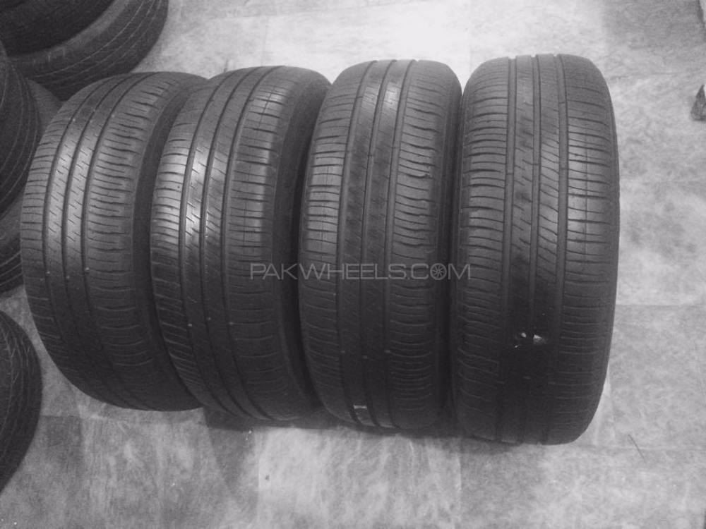 Michelin 205-65-15 Tyres in Good Condition Honda ,Corolla Image-1