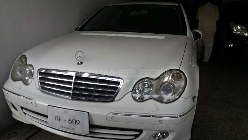Mercedes Benz C Class C200 CDI 2006 Image-1