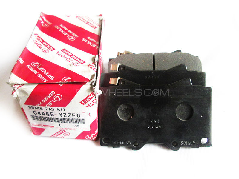 Toyota Land Cruiser V8 Genuine Front Brake Pads 2005-2007 Image-1