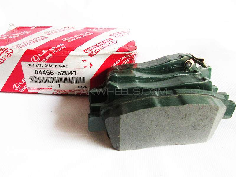 Toyota Vitz old Genuine  Front Brake Pads 1999-2004 Image-1