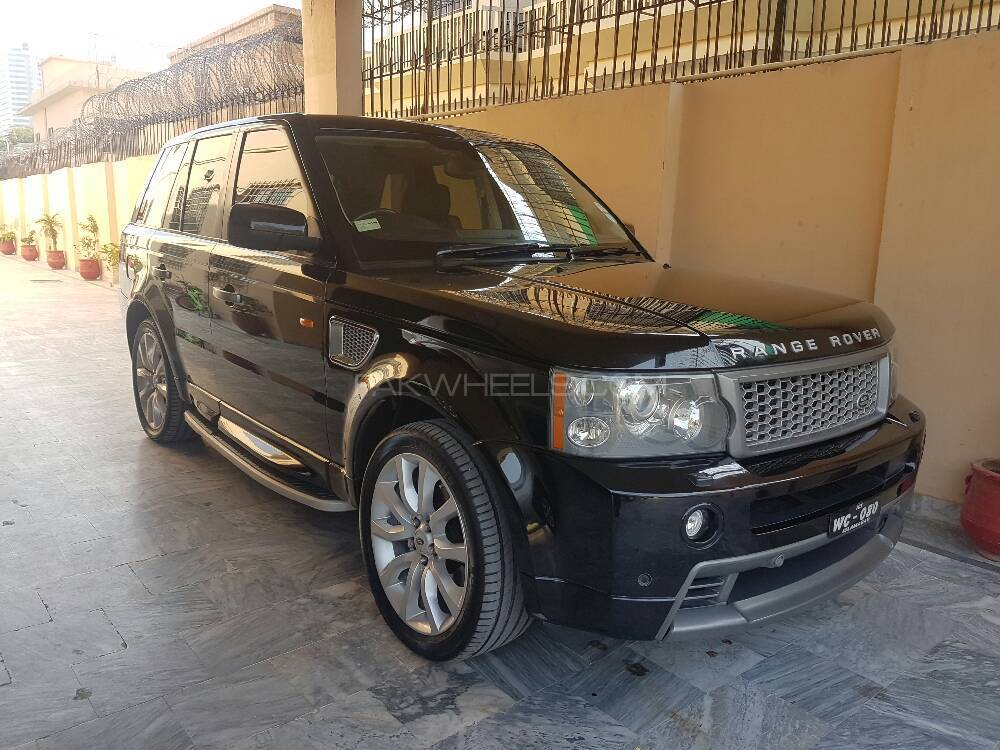 range rover sport supercharged 4 2 v8 2007 for sale in islamabad pakwheels. Black Bedroom Furniture Sets. Home Design Ideas