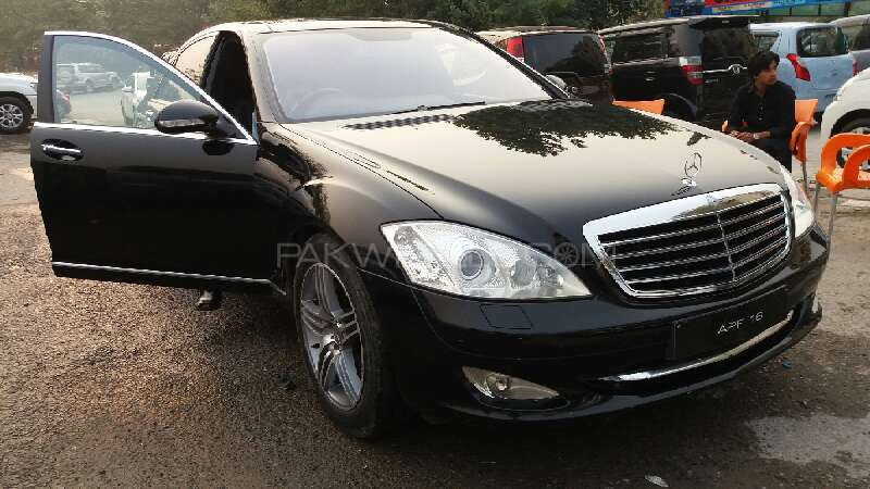 Mercedes Benz S Class S500 2007 Image-1