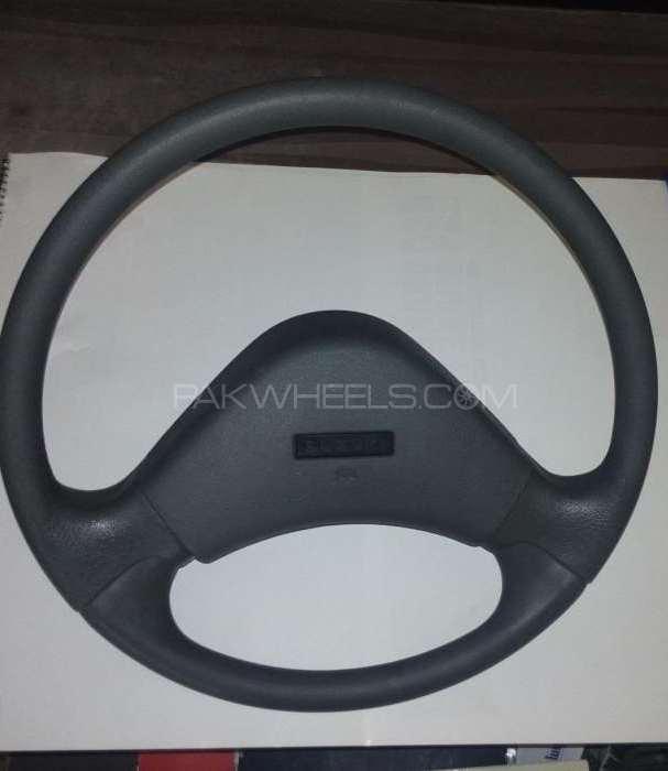 Streeing wheel suzuki mehran Image-1