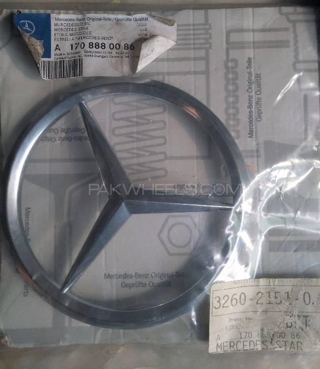 Mercedes Star Logo Genuine Image-1
