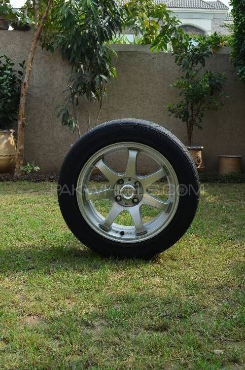 "15"" Alloy Rims and Tyres Image-1"