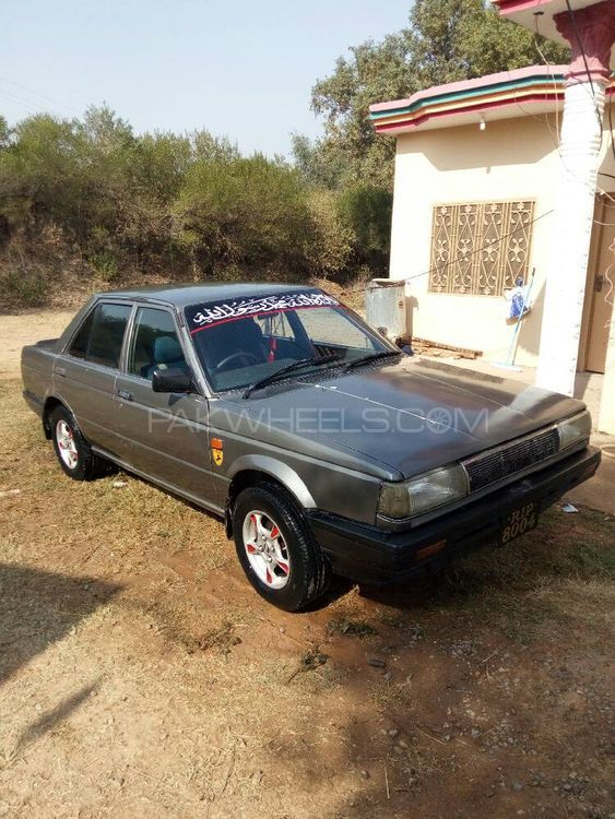 Nissan Sunny EX Saloon 1.3 (CNG) 1987 Image-1