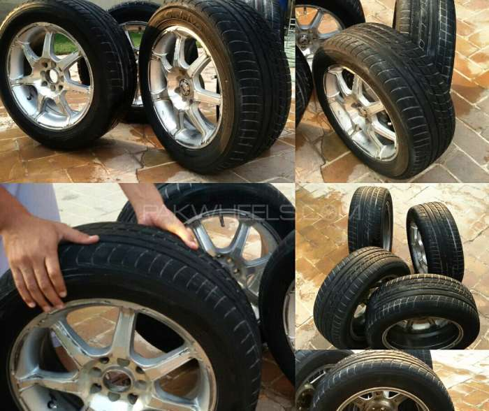 Tyres for Both Front and Rear wheels Image-1
