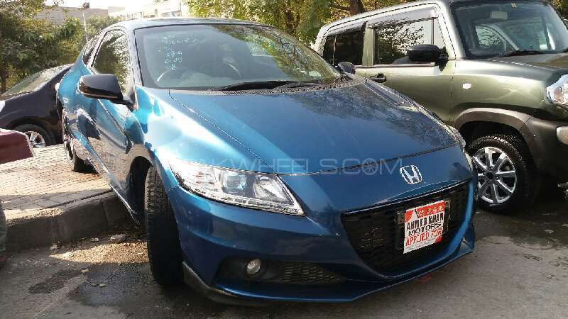 Honda CR-Z Sports Hybrid Alpha 2014 Image-1