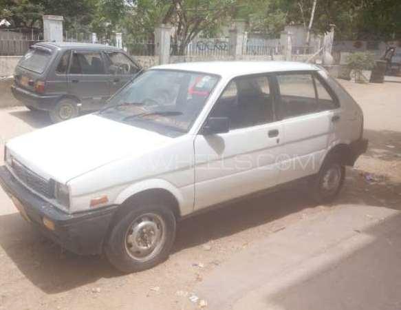 Subaru Justy GL 1985 Image-1