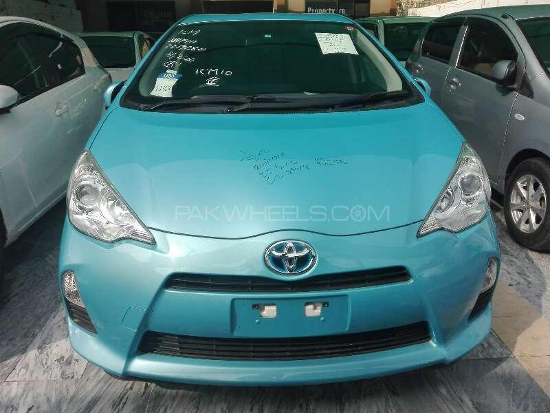 Toyota Aqua 2013 Image-1