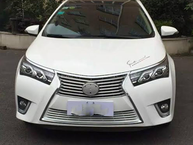 toyota corolla 2014 2016 front bumper lexus style without headlights for sale in pakwheels. Black Bedroom Furniture Sets. Home Design Ideas