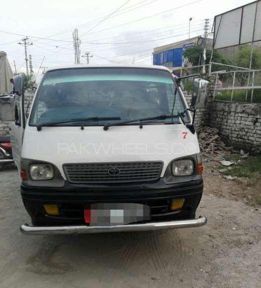 Toyota Hiace 2002 Image-1
