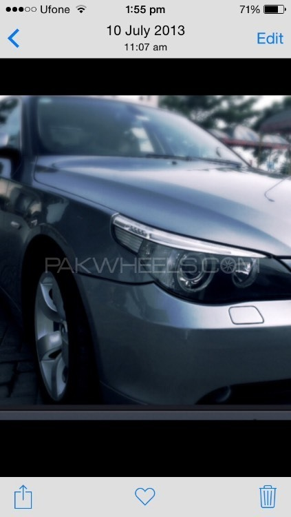 BMW 5 Series 530i 2006 Image-1