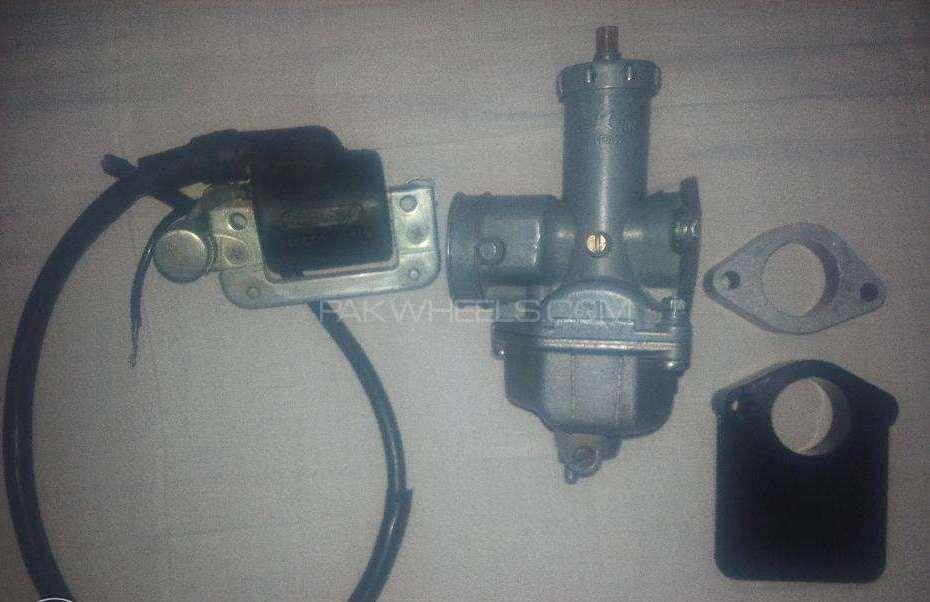 Modal 1985 point carburaterHaddigutka ignation coil avlble Image-1