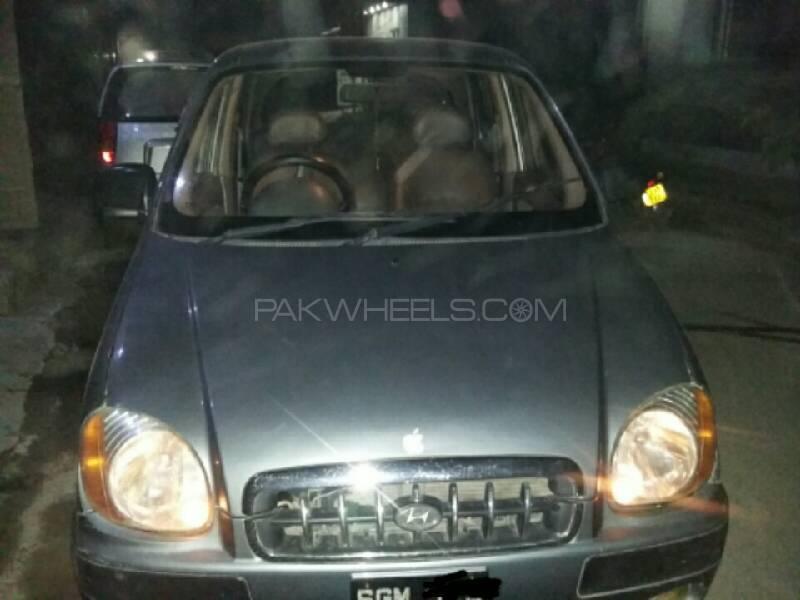 Hyundai Santro Club GV 2004 Image-1