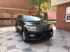 Toyota Land Cruiser ZX 60th Black Leather Selection 2011 for Sale in Faisalabad