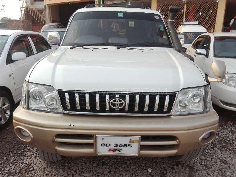 Toyota Prado RZ 3.0D (3-Door) 1996 Image-1
