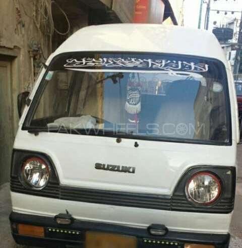 Suzuki Bolan GL 1998 Image-1