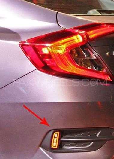 Honda Civic 2016 Rear Bumper Light Image-1