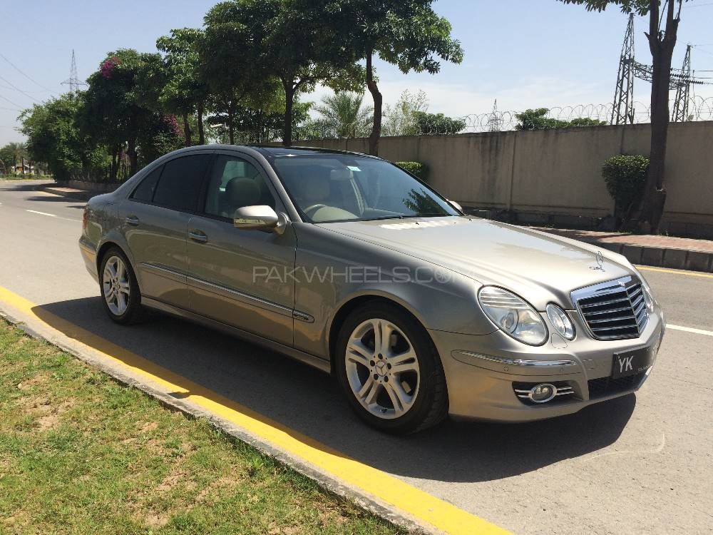 mercedes benz e class e200 2007 for sale in islamabad