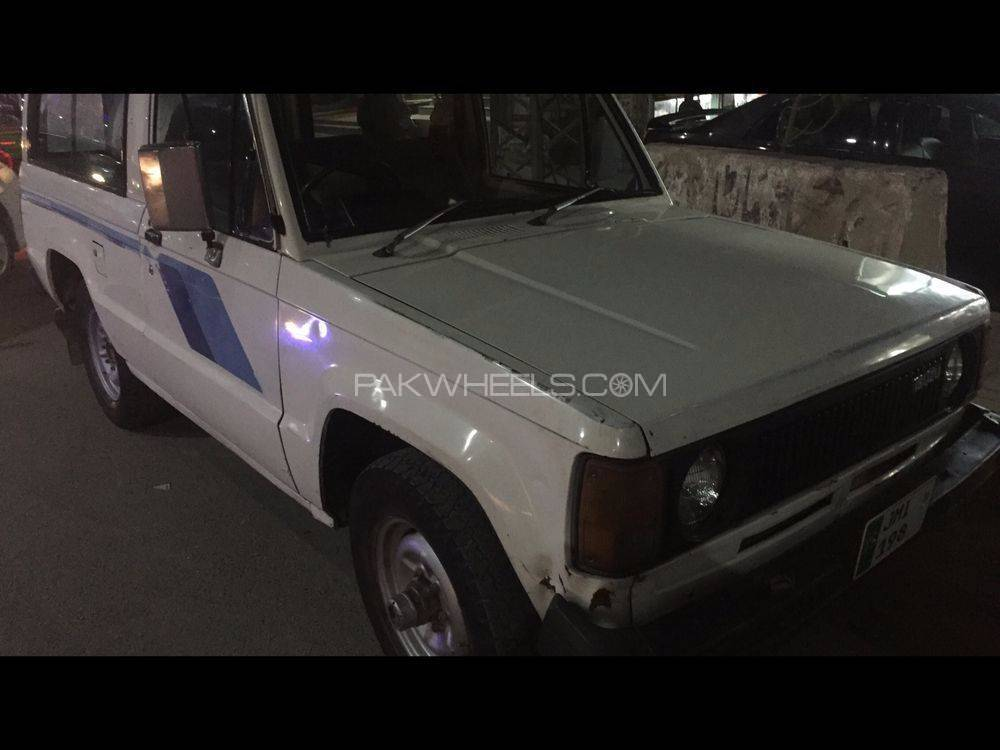 Isuzu Trooper 1984 Image-1