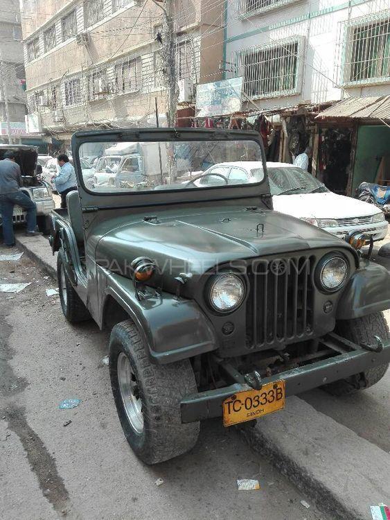 Jeep CJ 5 1962 Image-1