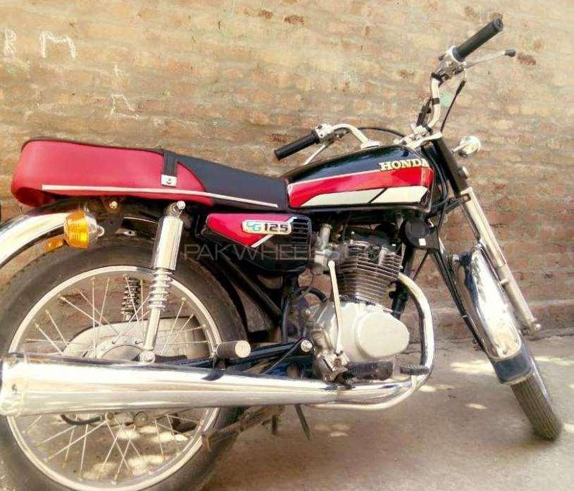 Honda CG 125 1986 Image-1