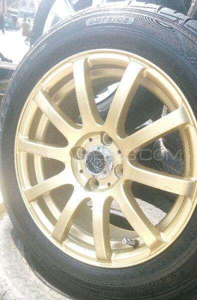 15 size Golden 4 rims Image-1