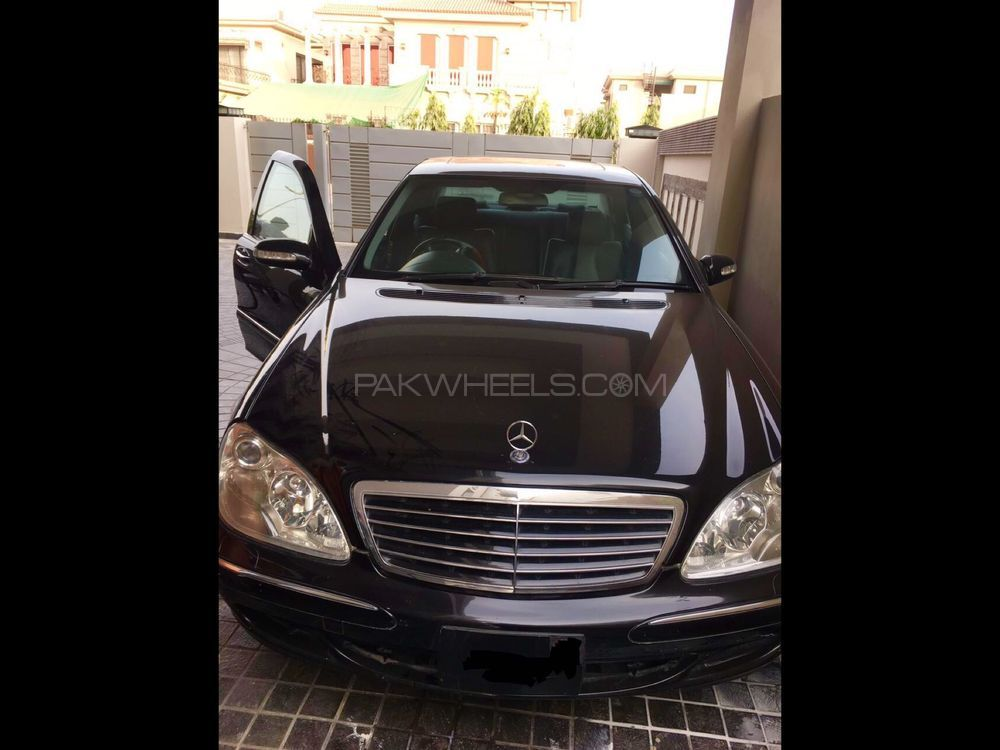 Mercedes Benz S Class S350 2003 Image-1