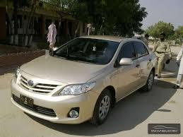 Toyota Corolla XLi VVTi Ecotec 2012 Image-1