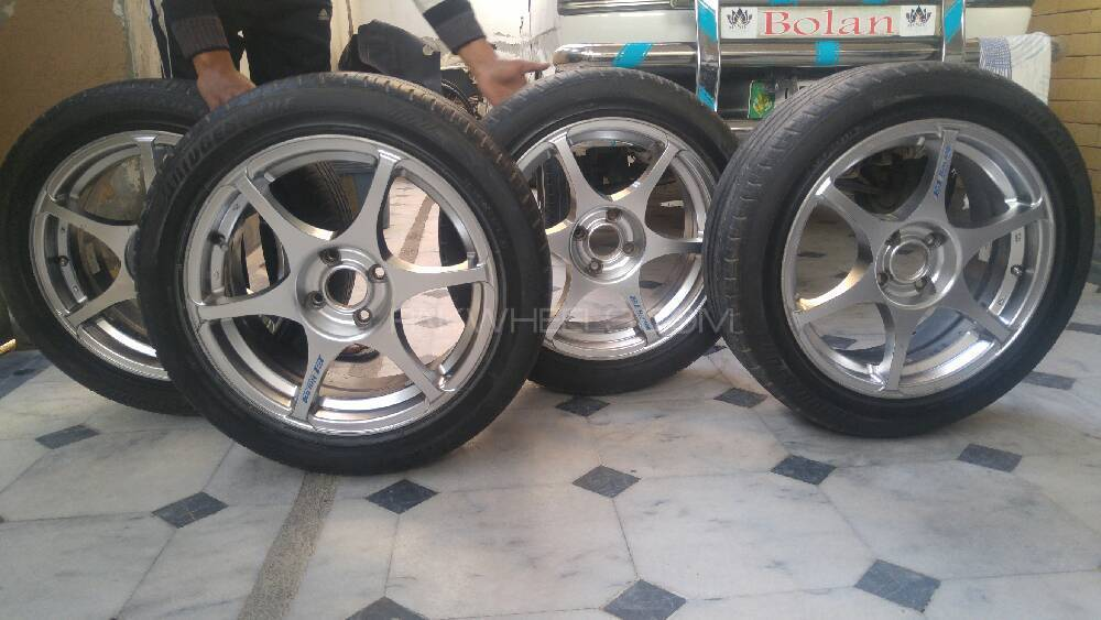 Racing Alloy Rims  Image-1