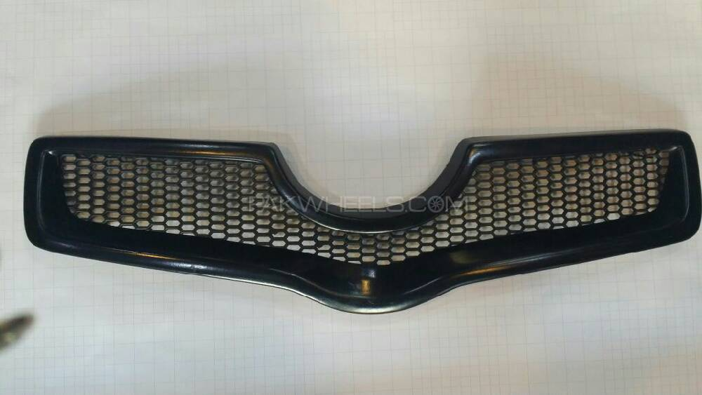 front sporty grill for vitz Image-1