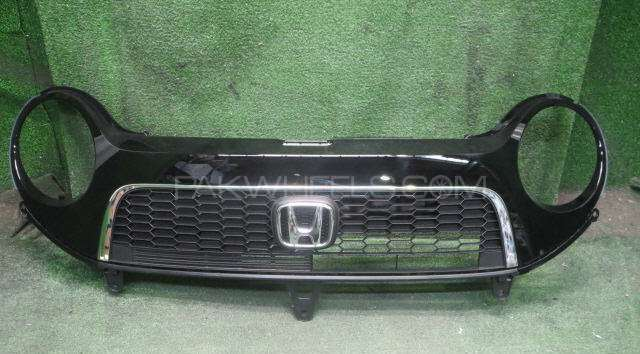 Honda N one front grill bumper anf head lights 2013 model Image-1