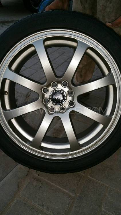 17 SIZE ALLOY RIM MADE IN TAIWAN 4 HOLL Image-1