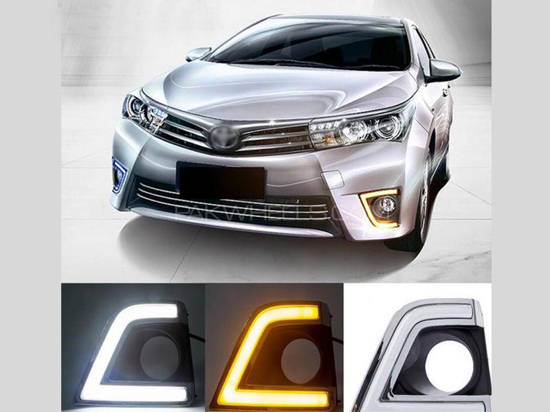 Toyota Corolla DRL Fog Light Covers - Corolla 2014-2016 Image-1