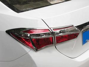 ABS Chrome Set Headlight Tail light Chrome For Corolla 2014-2016 in Lahore