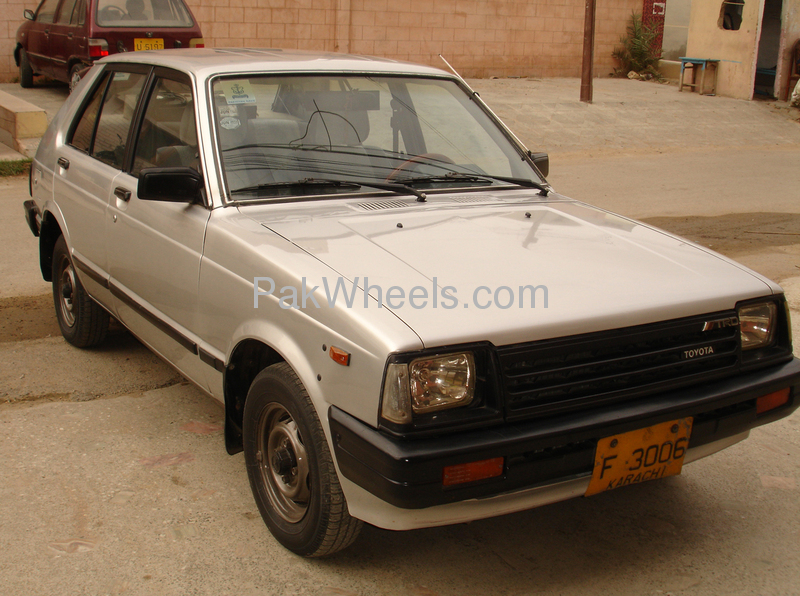 Toyota Starlet 84 For Sale In Karachi