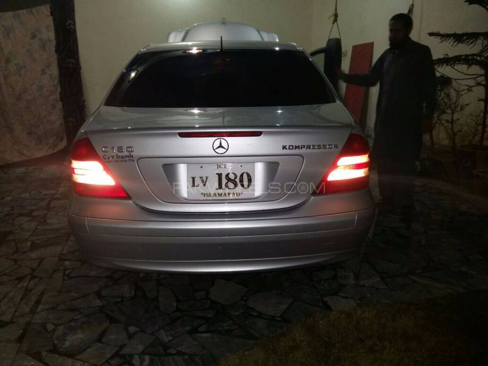 mercedes benz c class c180 2005 for sale in islamabad pakwheels. Black Bedroom Furniture Sets. Home Design Ideas