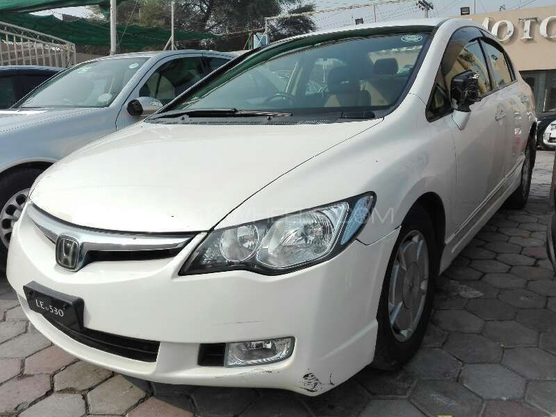 honda civic hybrid 2006 for sale in lahore pakwheels. Black Bedroom Furniture Sets. Home Design Ideas