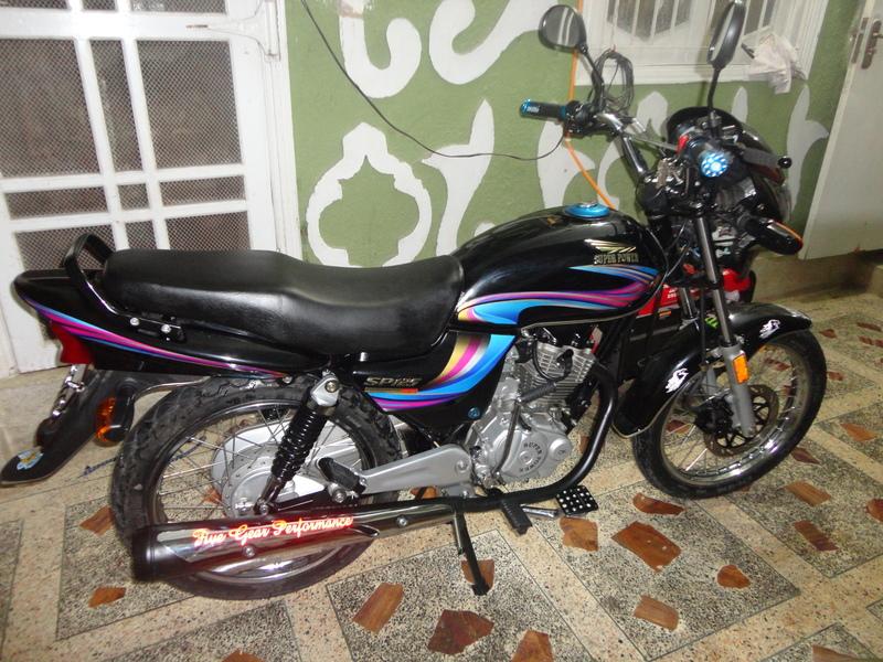 used super power sp 125 2012 bike for sale in karachi 98601 pakwheels. Black Bedroom Furniture Sets. Home Design Ideas