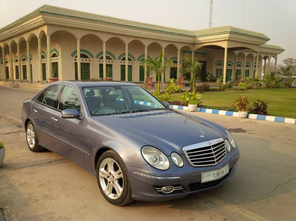 mercedes benz e class 2007 for sale in islamabad pakwheels. Black Bedroom Furniture Sets. Home Design Ideas
