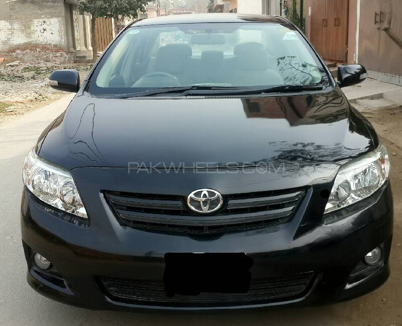 toyota corolla xli vvti 2009 for sale in lahore pakwheels. Black Bedroom Furniture Sets. Home Design Ideas
