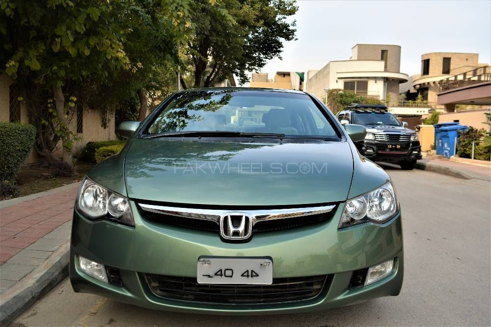 honda civic vti prosmatec 1 8 i vtec 2007 for sale in islamabad pakwheels. Black Bedroom Furniture Sets. Home Design Ideas