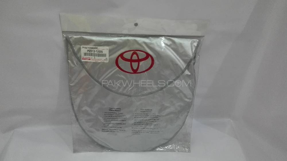Front Sun Shade Toyota Genuine - MC in Lahore