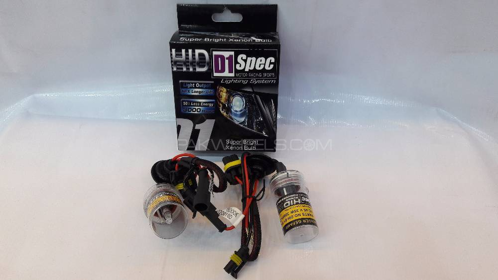 D1 Spec HID Tubes H7 in Lahore