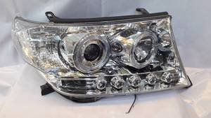 Head Light Land Cruiser V8 Chrome 2008-2013 in Lahore