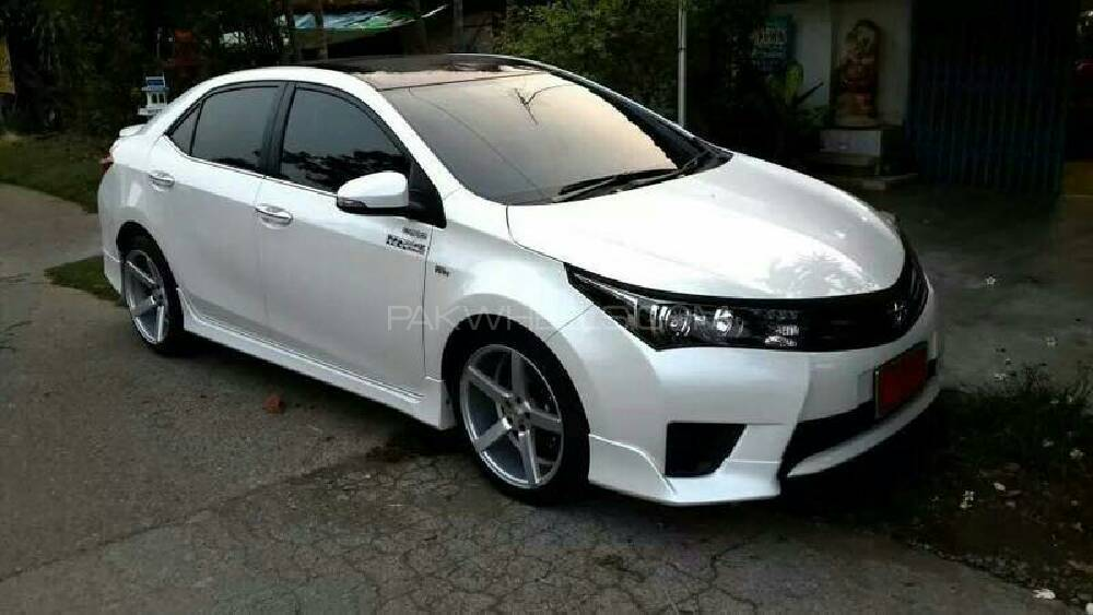 COROLLA 2015 E SPORT BODY KITS SPECIAL PACKAGE Image-1