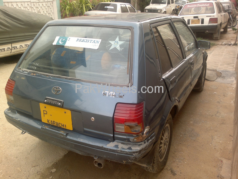 Toyota Starlet 84 For Sale In Karachi: Used Toyota Starlet 1987 Car For Sale In Karachi